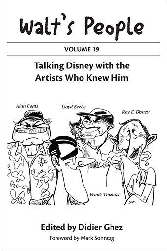 walts people volume 9 talking disney with the artists who knew him
